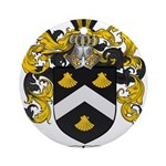Mitchell Family Crest Ornament (Round)