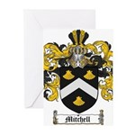 Mitchell Family Crest Greeting Cards (Pk of 10)