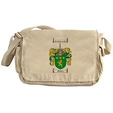 Moore Family Crest Messenger Bag