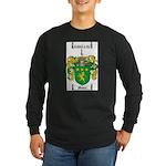 Moore Family Crest Long Sleeve Dark T-Shirt