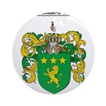 Moore Family Crest Ornament (Round)