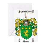 Moore Family Crest Greeting Cards (Pk of 10)