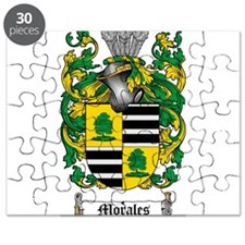 Morales Family Crest Puzzle