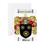 Moran Family Crest Greeting Cards (Pk of 20)