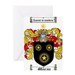 Moran Family Crest Greeting Card