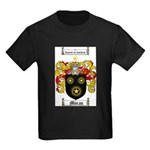 Moran Family Crest Kids Dark T-Shirt