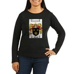 Moran Family Crest Women's Long Sleeve Dark T-Shir