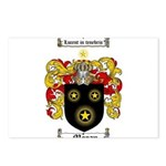 Moran Family Crest Postcards (Package of 8)