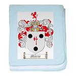 Morse Family Crest baby blanket