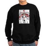Morse Family Crest Sweatshirt (dark)