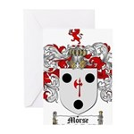 Morse Family Crest Greeting Cards (Pk of 20)