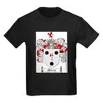 Morse Family Crest Kids Dark T-Shirt