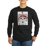 Morse Family Crest Long Sleeve Dark T-Shirt