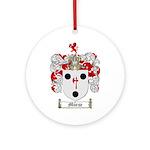 Morse Family Crest Ornament (Round)