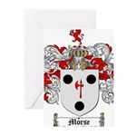 Morse Family Crest Greeting Cards (Pk of 10)
