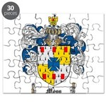 Moss Family Crest Puzzle