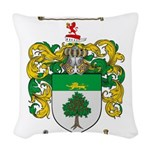 Murphy Family Crest Woven Throw Pillow