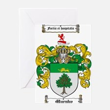 Murphy Family Crest Greeting Card