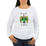 Murphy Family Crest Women's Long Sleeve T-Shirt