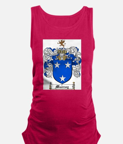 Murray Family Crest Maternity Tank Top