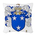 Murray Family Crest Woven Throw Pillow