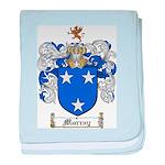Murray Family Crest baby blanket