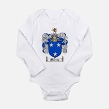 Murray Family Crest Long Sleeve Infant Bodysuit