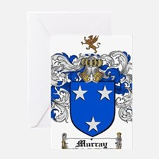 Murray Family Crest Greeting Card