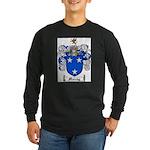 Murray Family Crest Long Sleeve Dark T-Shirt