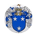 Murray Family Crest Ornament (Round)