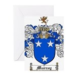 Murray Family Crest Greeting Cards (Pk of 10)