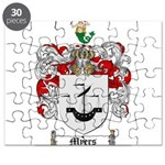 Myers Family Crest Puzzle