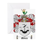 Myers Family Crest Greeting Cards (Pk of 20)