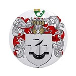 Myers Family Crest Ornament (Round)