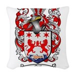 Neal Family Crest Woven Throw Pillow