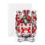 Neal Family Crest Greeting Card