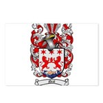 Neal Family Crest Postcards (Package of 8)