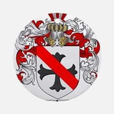 Nelson Family Crest Ornament (Round)