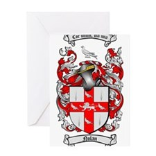 Nolan Family Crest Greeting Card