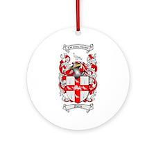 Nolan Family Crest Ornament (Round)