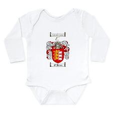 O'Brien Family Crest Long Sleeve Infant Bodysuit