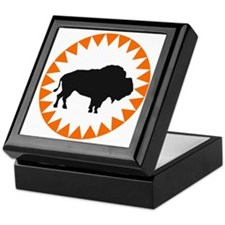 Houston Buffaloes Keepsake Box