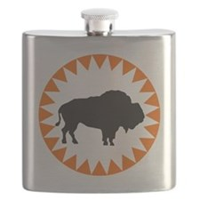 Houston Buffaloes Flask