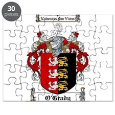 O'Grady Family Crest Puzzle