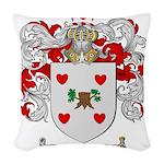 Olson Family Crest Woven Throw Pillow