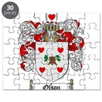 Olson Family Crest Puzzle