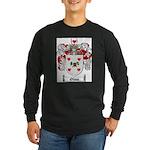 Olson Family Crest Long Sleeve Dark T-Shirt