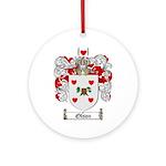 Olson Family Crest Ornament (Round)
