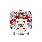 Olson Family Crest Postcards (Package of 8)