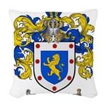 Ortiz Family Crest Woven Throw Pillow